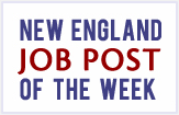 New England Newspaper Job Openings