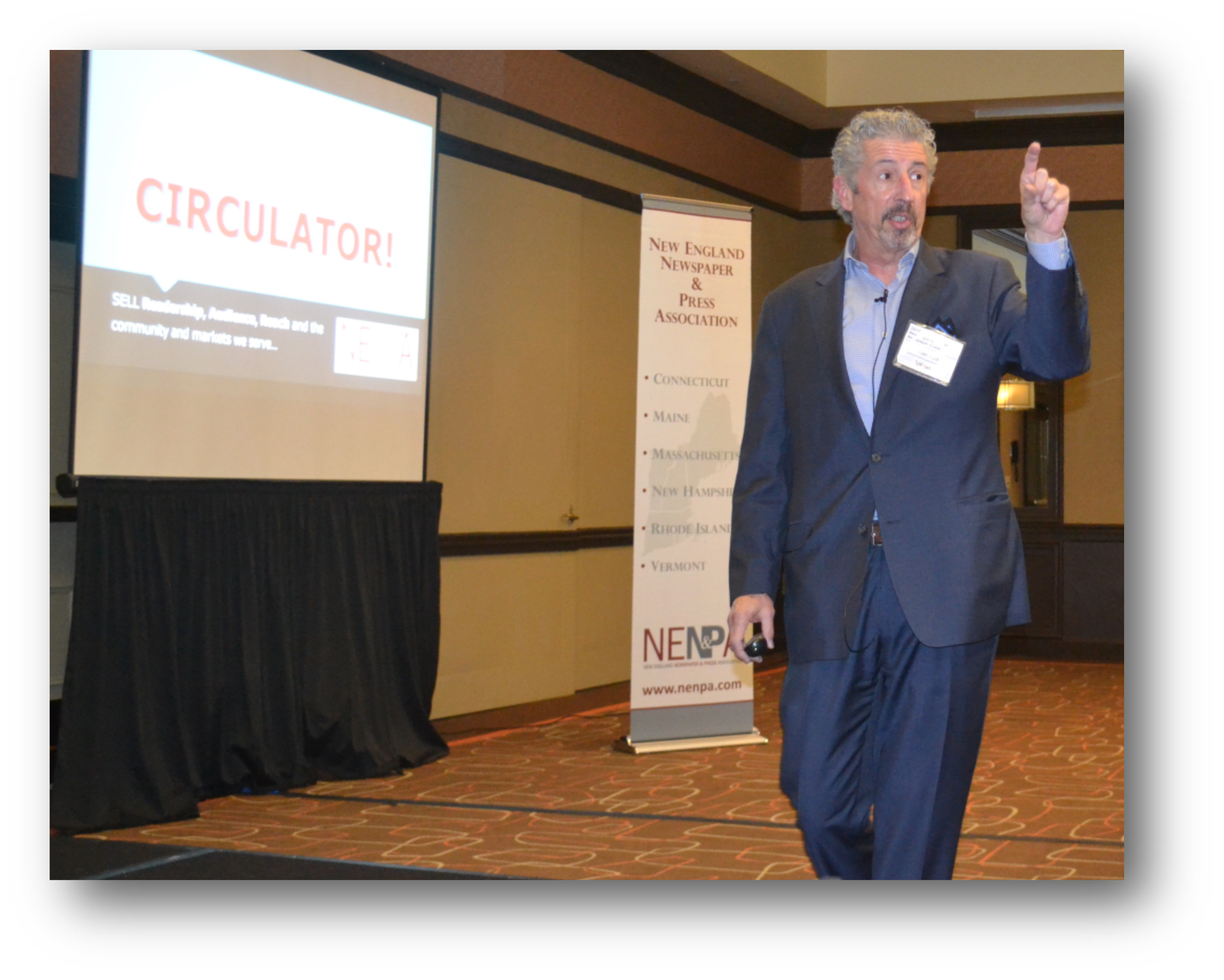 Best picture of general communications woburn ma - Keynote Speaker Yunt Papers Survival Depends On Open Minds Communication Nenpa