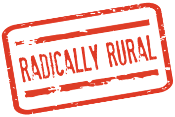 Radically rural logo