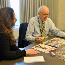 Ed Henninger talks with Barbara Dimauro of American Business Media about layout.