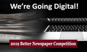 Better Newspaper Competition Going Digital NENPA