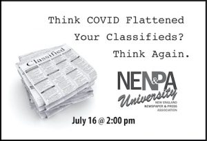 Think COVID Flattened Your Classifieds? Think Again.