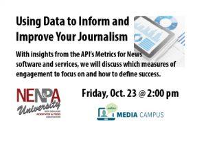 NENPA U: Using Data to Inform and Improve Your Journalism